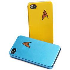 ThinkGeek :: #StarTrek Starfleet iPhone 4 Cases $3.99