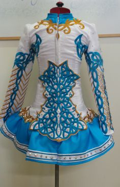 Doire Dress Designs Ltd Irish Dance Solo Dress Costume - love the cape --