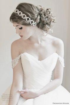 enchanted atelier bridal fall 2013 rachelle swarovski headband.