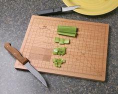 The OCD cutting board.  I am afraid I need this.