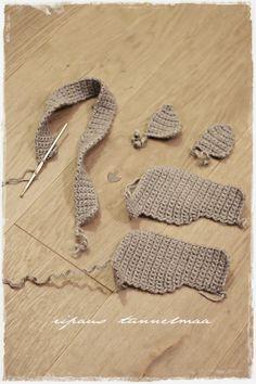 Omia pikku projekteja. Kirpputorilöytöjä ja niiden tuunausta. Sisustusta ja vauva-arkea. Crochet Necklace, Kids, Free, Lace Sleeves, Young Children, Boys, Children, Boy Babies, Child