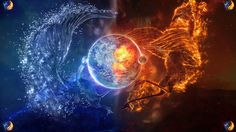 fire and ice art photos | fire and ice by ~dj1001 on deviantART