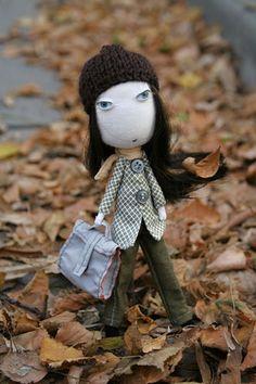 Кукла, осень