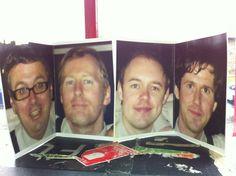 Frank and Walters cardboard cutouts: Ashley Keating, Paul Linehan, Cian Corbett and Rory Murphy