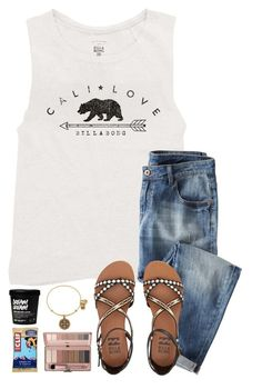 """~be stronger than your fears~"" by simply-natalee ❤ liked on Polyvore featuring Billabong, Wrap and Alex and Ani"
