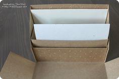Stationary Box Kartenbox Stampin'Up! mit Anleitung