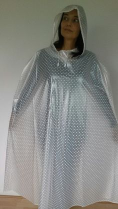 Beautiful high quality unusual cape made in very soft supple PVC | eBay!