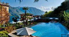 Descubrimiento de la semana 187: La piscina del Hotel Tremezzo con vistas al Lago Como. #pool #piscina #relax #poolwithaview #piscinaconvistas #hotelpool #como #tremezzo #dreamingpool