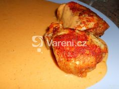 French Toast, Meat, Chicken, Breakfast, Recipes, Food, Red Peppers, Morning Coffee, Essen