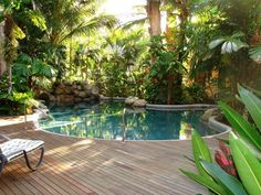 Pool Deck Ideas Relaxing And Dramatic Tropical Pool Designs Home . Horizontal Deck Railing Exterior Contemporary With Asian . Home and Family