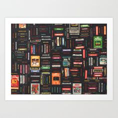Atari Art Print by HOLLIS BROWN THORNTON |