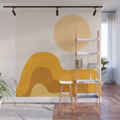 Sun Dunes 02 Wall Mural by theoldartstudio Wall Murals Bedroom, Kids Wall Murals, Hallway Colours, Room Decor, Wall Decor, My New Room, Vibrant Colors, Floor, Harrison House