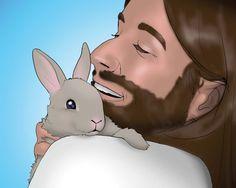 Celebrate #Easter without banishing the bunny. #EasterBunny #Lent