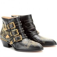 chloe studded ankle boots - Google Search