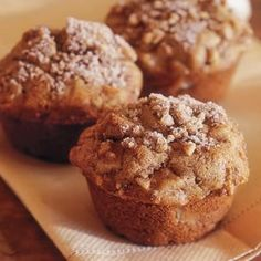 Vanilla-Pear Muffins | Williams-Sonoma.. Great recipe, but I chopped up three pears and that was a lot. Really two pears is plenty. I also highly recommend using parchment cups so you can make these large!