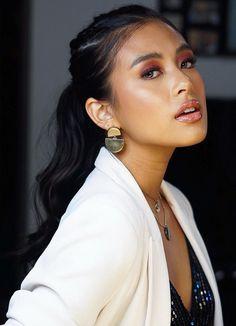 8 Celebrity Approved Hairstyles To Try This Holiday Season - Gabbi Garcia Kylie Padilla, Gabbi Garcia, Filipina Beauty, Female Head, Gorgeous Hair, Beautiful, Holiday Hairstyles, Beauty Hacks, Beauty Tips