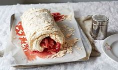 Claire Ptak's recipes for rhubarb roulade and ice-cream | Baking the seasons | Life and style | The Guardian