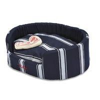 Snooza Buddy Pet Bed - Butcher's Stripe