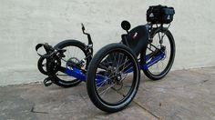 Blue KMX 20/20 Trike