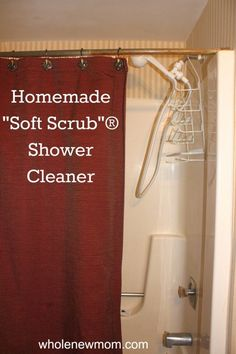 Homemade Shower Cleaner – toxin free way to clean your shower and save money!