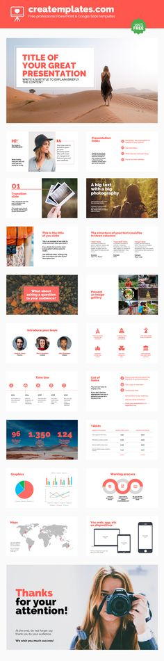 Lifestyle. A template for bloggers, travelers, photographers, etc. It has incredible images and a careful typographical choice. Use it to show your business or to show your adventurous side.