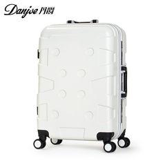 4da2b54c2 Mala de viagem com rodinha 20,24, 28 polegada ABS + PC materiais de viagem  mala Trolley caso bagagem Hardside mala de bagagem rolando
