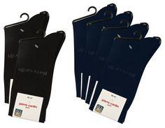 Pierre Cardin Men's socks 3 x Navy i 3 x Black 39-42 | MEN \ Socks | SOXO socks, slippers, ballerina, tights online shop