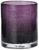 Plum Bubbled Glass Tumblers 4/Pkg - $26.80 at The Purple Store