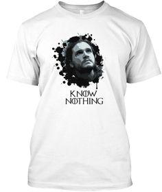 T-Shirt design by myself for Jon snow https://www.facebook.com/Kit-Harington-Actor-Game-of-Thrones-155279234999358/