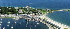Marina, Shopping and Beach - Watch Hill, Rhode Island