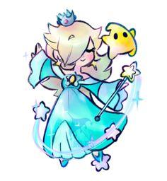 Princess Rosalina by lunarflurry #nintendo #mario #fanart
