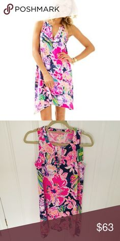 NWT Lilly Pulitzer Tipping Point Havana Dress, XS Lilly Pulitzer Tipping Point Havana Dress, XS. Brand new with tags! Price firm here. 55 via 🅿️🅿️  No trades. Please do not ask. Lilly Pulitzer Dresses