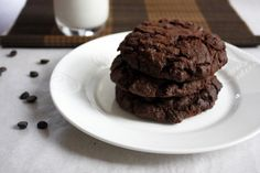 These chocolate cookies recipe delivers a TRIPLE chocolate hit that is totally addictive. A perfect Easter recipe.
