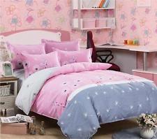 Princess Pink Comfort Bedding Sets Duvet Cover Pillowcase Sheet 4PC King Queen