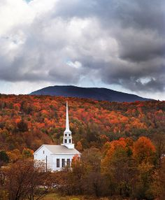 Church in Vermont, via Flickr.