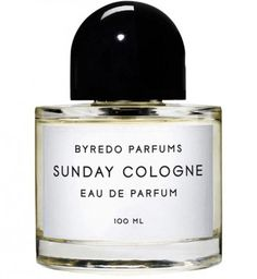 #SundayCologne di Byredo Una colonia classica con l'aggiunta di spezie in testa, un cuore fiorito ed un fondo verde.
