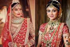 #Bollywood Actress In Bridal Wear