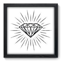 Quadro Decorativo - Diamante - 061qdd