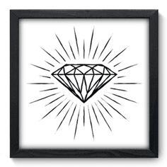 Quadro Decorativo - Diamante - 061qdd