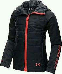This is slick, I love this jacket .This Girls' ColdGear Infrared Werewolf Jacket will keep her warm and dry. And it is great for layering when the weather is rapidly changing. Nike Under Armour, Under Armour Girls, Athletic Outfits, Athletic Wear, Cute Gym Outfits, Site Nike, Jackett, Sport Wear, Mode Style