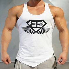 ae082edf64ceb 2016 Brand Casual vest men t shirts Summer Cotton Fit Men Tank Tops Clothing  Bodybuilding Undershirt