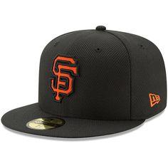 3f89b7ccec San Francisco Giants New Era Youth Diamond Era 59FIFTY Fitted Hat - Black   SanFranciscoGiants San