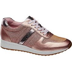 #Graceland #Sneaker #rosa für #Damen - Absatz 2 5 cm Schuhspitze rund Farbe rosa Laufsohle TPR Obermaterial Synthetik Innenmaterial Textil Synthetik