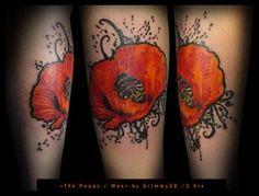 Poppy tattoo | Tattoos | Pinterest