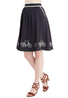 Seaside Ride Skirt, @ModCloth