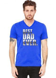 best dad ever t shirt design 11 V-Neck Tee