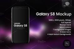 Samsung Galaxy S8 Mockup Samsung Galaxy Samsung Galaxy S8