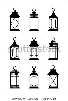 Find Lanterns Silhouettes Print Lantern Wedding Set stock images in HD and millions of other royalty-free stock photos, illustrations and vectors in the Shutterstock collection. Cute Cartoon Drawings, Cute Disney Drawings, Simple Wall Paintings, Lantern Drawing, Hanging Light Bulbs, Journal Themes, Ramadan Decorations, Wedding Lanterns, Camping Lanterns