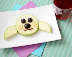 Fun Food Kids Baby Seal Apple & Grape Snack Apfel weintrauben Robbe Seehund obst fruit gesund
