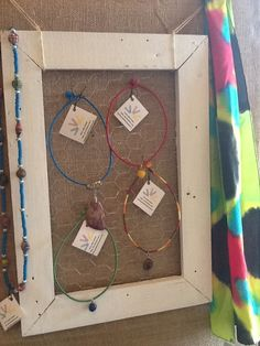 Colorful handmade jewelry available at The White Stag in downtown Matthews, NC W-F 10-4 and Sat 10-5!